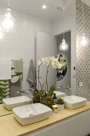 creative modern bathroom lights ideas youll love melbourne australia 24th july 2014contestant of the block 2014 reveal apartment 6 bathroom lighting ideas photos