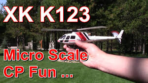 <b>XK K123</b> AS350 RC helicopter review - what it gets right & wrong ...