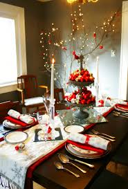 Christmas Dining Room 28 Christmas Table Decorations Settings Entertaining Ideas 2