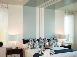 bedroom painting designs: striped paint canopy ceiling stripe striped paint canopy