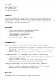 professional airline ticketing agent templates to showcase your    resume templates  airline ticketing agent