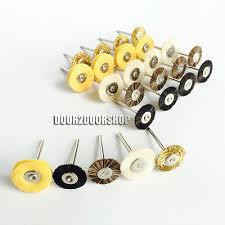 50pcs 2.35mm <b>Brush</b> Polishing Wheel Polishers for Rotary Tools ...