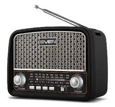 <b>Радиоприемник Sven SRP-555</b> (MicroSD/BT/FM/AUX) черный ...