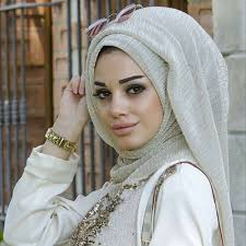 Muslim Elastic Golden <b>Silk</b> Shining Scarves <b>High Quality Women</b> ...