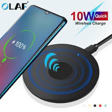 <b>Olaf 10W Qi Wireless</b> Charger USB Micro USB <b>Fast</b> Charging Pad ...