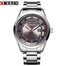 Curren 8246 <b>Luxury Top</b> Brand Strap <b>Men's Quartz</b> Fashion Casual ...
