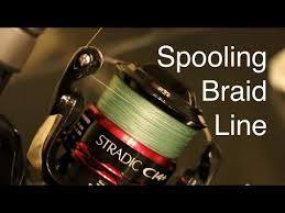 How to Spool Braided Line on a <b>Spinning Reel</b> Without Line Twists ...