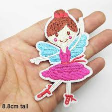 Ballerine Ballerina Ballet <b>Lovely Girl</b> Princess <b>Iron</b> on Embroidered ...