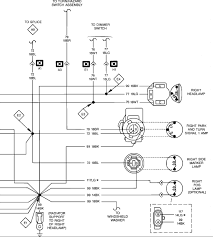1989 jeep my headlight tail light wiring diagram light switch graphic