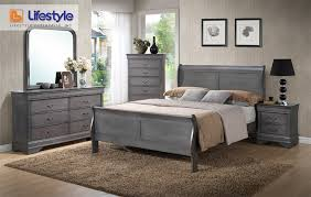 lifestyle louis phillipe queen bedroom set amazing brilliant bedroom bad boy furniture