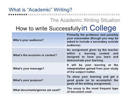 What is academic writing SlideShare