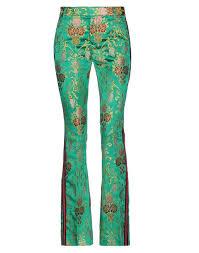 <b>FEMME by MICHELE ROSSI</b> Casual pants Emerald green Women ...