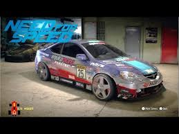 Need For Speed Fwd Drift Car Acura Rsx R Youtube