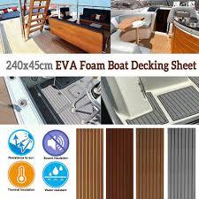 Deluxe <b>EVA Foam Boat</b> Marine Flooring Mat Faux Teak Decking ...