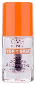 <b>Eva Mosaic</b> базовое и верхнее <b>покрытие</b> Top & Base 10 мл ...