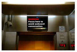 funny elevator messages