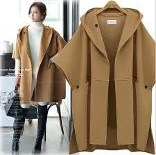 2019 <b>2018 Hot Sale Women</b> European Woolen Coat Hooded ...
