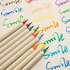 Мягкая <b>кисть каллиграфическая</b> ручка акварельных маркерных ...