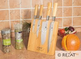 Магнитная <b>подставка</b> для <b>Chef</b> 4-х <b>ножей Chef</b> (блок) CH-002 ...