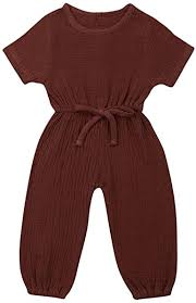 Mubineo Toddler Baby Girl Summer Fall Basic Plain ... - Amazon.com