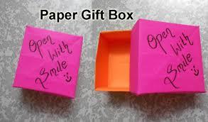 diy small gift box paper last minute gift wrapping idea diy small gift box paper last minute gift wrapping idea niya kumar