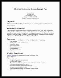 electrical engineer resume sample experienced cipanewsletter civil engineering resume template civil engineering resume