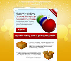20 wonderful christmas new year email templates web graphic holiday mail
