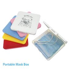 <b>New Hot Portable Dustproof</b> Moisture Proof Storage Box Mask Case ...