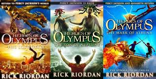 Image result for novel the heroes of olympus