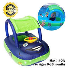 Qiao Niuniu Summer Steering Wheel Sunshade <b>Swim Ring</b> Car ...