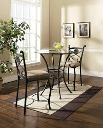 three piece dining set: dinette table  piece dinette sets dinette sets for small kitchens