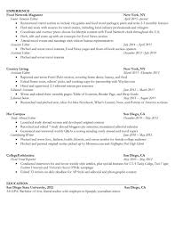 resume sarah weinberg about middot work middot resume