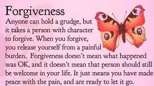 Image result for What forgiveness is not