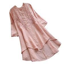 Buy Rosatro Women Loose tees, <b>Women Vintage Embroidery</b> ...