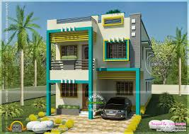 Flat roof Tamilnadu house in square feet   Kerala home design    Flat roof Tamilnadu house
