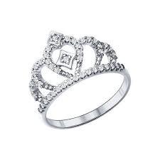 <b>Кольцо корона</b> из серебра <b>SOKOLOV</b> – купить в официальном ...