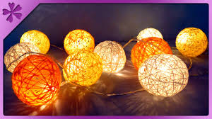 DIY <b>Cotton ball</b> lights (ENG Subtitles) - Speed up #258 - YouTube