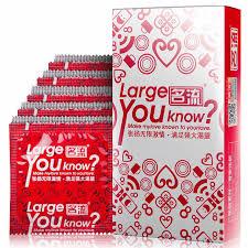 30pcs Male <b>Extra</b> Big <b>Large</b> Size Condoms Condoom Intimate ...