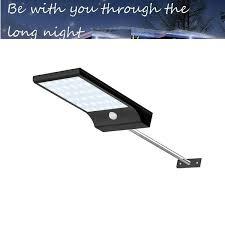 Aluminum pole <b>48/36 LED Solar</b> powered PIR Motion Sensor <b>Light</b> ...