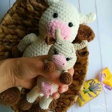 crochet pattern <b>cow</b>/Crochet toy