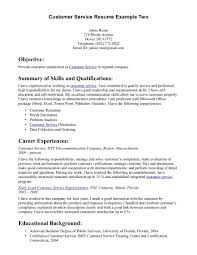 resume samples for customer service experience resumes resume samples for customer service in ucwords