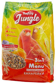 <b>Happy Jungle</b> Корм Daily Menu для канареек — купить по ...