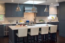 5 what impression does the kitchen with blue cabinets blue cabinet kitchen lighting