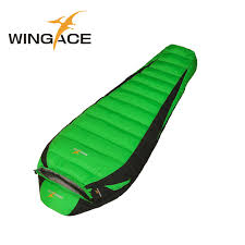 filling 400g 600g 800g 1000g 1200g outdoor ultralight goose down sleeping bag winter mummy bags camping uyku tulumu