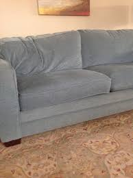 my husband and i purchased a sofa from bassett furniture several months ago we chose the style cushion content and fabric all right there in the store allure furniture