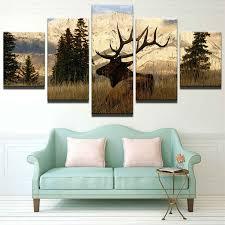 <b>Modern Canvas</b> Pictures HD Printed Wall Art <b>Framework</b> 5 Pieces ...