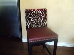 Fabric To Reupholster Dining Room Chairs Chair Design Reupholster Chair Fabric Needed