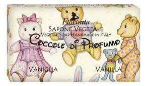 Купить <b>натуральное мыло</b> coccole di <b>profumo</b> vaniglia 100г ...