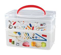 """<b>Коробка универсальная</b> """"Multi <b>Box</b>"""", с ручкой и декором, 2 секции ..."""