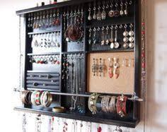 Wall Earring Holder | <b>organizador de accesorios</b> | <b>Armario de</b> joyas ...